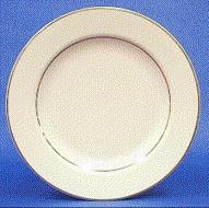 Where to find GOLD BAND IVORY R 6  DESSERT PLATE in Tyler