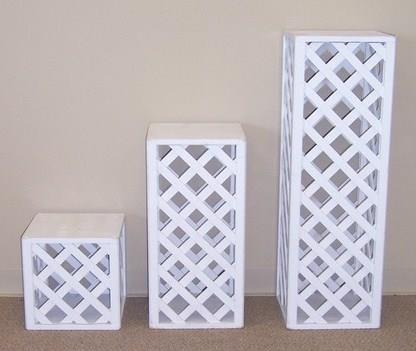 Where to find STAND, PLANT 24  WHITE LATTICE in Tyler