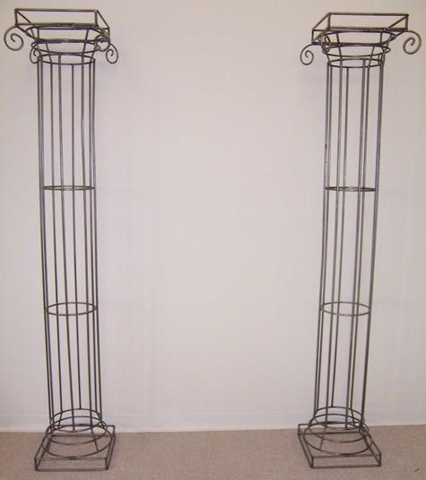Stand Iron Greek Columns 36