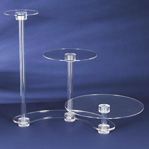 Where to find 3 TIER ACRYLIC CAKE STAND in Tyler