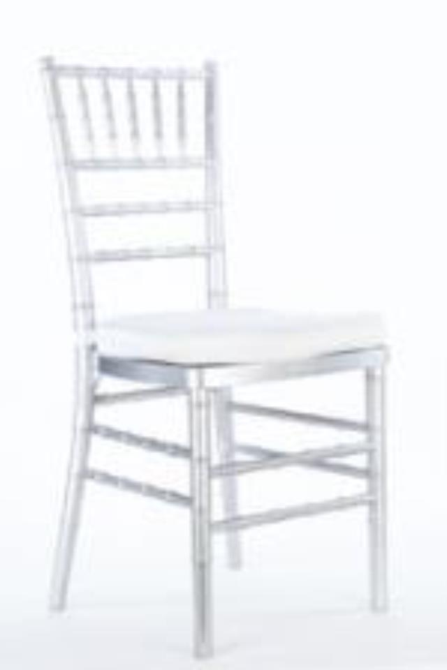 Where To Rent SILVER CHIAVARI CHAIR In Tyler TX, Longview Texas, Palestine  TX,
