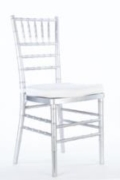 Rental store for SILVER CHIAVARI CHAIR in Tyler TX