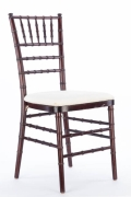 Rental store for MAHOGANY CHIAVARI CHAIR in Tyler TX