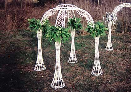 Where to find GAZEBO, WHITE WICKER in Tyler