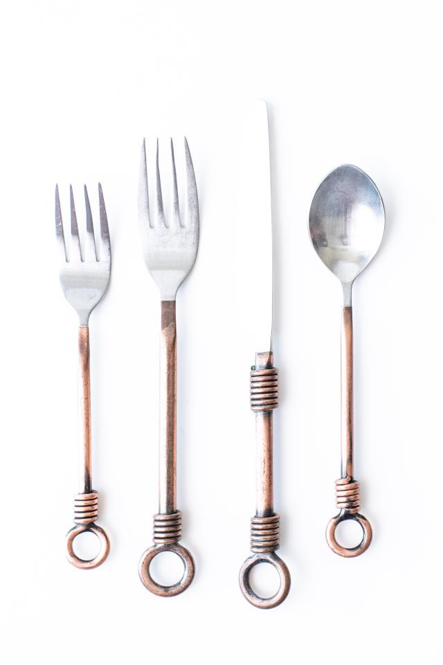 Where to find COPPER FLATWARE in Tyler
