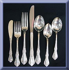 Where to find SILVER FLATWARE in Tyler