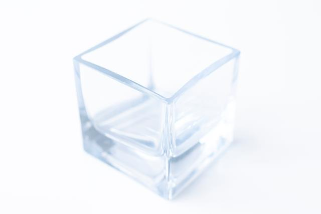 Where to find VASE, 2.75  CUBE CLEAR in Tyler