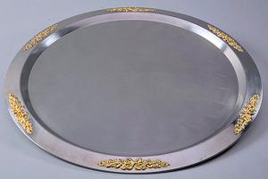 Where to find 15  SS W  GOLD PONTRELLI TRAY in Tyler