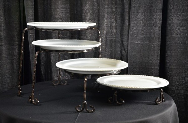 Where to find 4 TIER IRON STAND W  PLATES in Tyler