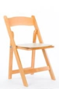 Rental store for NATURAL WOOD GARDEN CHAIR in Tyler TX