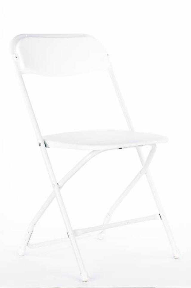 Where to find WHITE VINYL W  WHITE FRAME CHAIR in Tyler