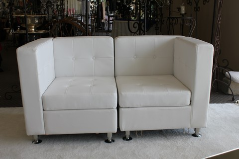 Where to find CORNER WHITE LEATHER CHAIR in Tyler