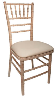 Where to find OFF WHITE VINYL CHIAVARI CHAIR PAD in Tyler