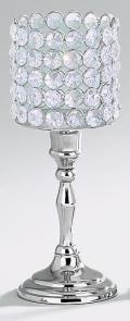 Rental store for 9 1 2  SPARKLE CRYSTAL CANDLE STICK in Tyler TX