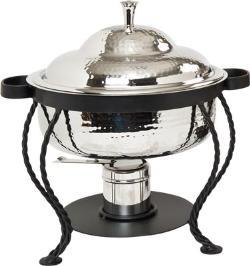 Where to find 3 QT RND STAINLESS HAMMERED CHAFER in Tyler