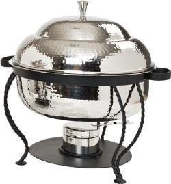 Where to find 8 QT RND STAINLESS HAMMERED CHAFER in Tyler