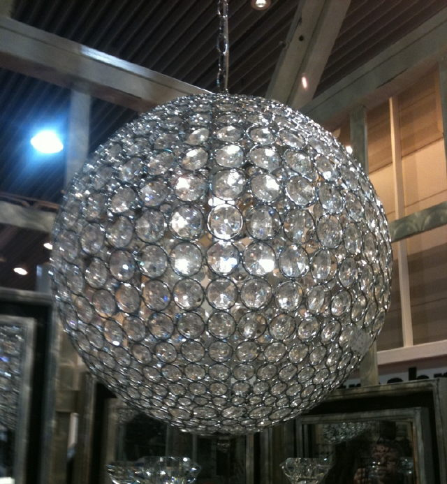 Where to find CHANDELIER, 20  RND CRYSTAL BEAD BALL in Tyler