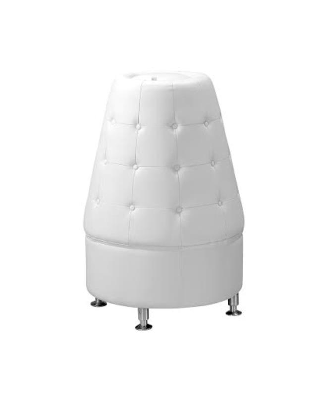 Where to find CONE SHAPED WHITE LEATHER TOWER in Tyler