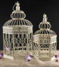 Rental store for SMALL CREAM HEX METAL BIRDCAGE in Tyler TX