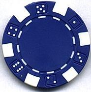 Where to find BLUE DICE CHIPS, BOX OF 100 in Tyler