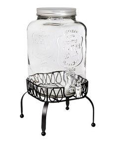 Where to find 2.15 GAL GLASS MASON JAR BEV DISPENSER in Tyler