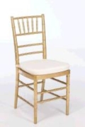 Rental store for GOLD CHIAVARI CHAIR in Tyler TX