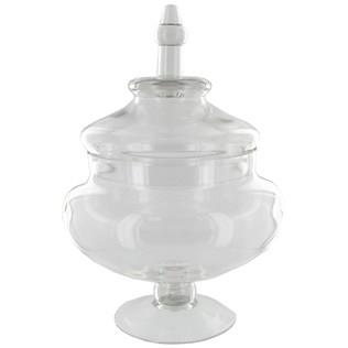 Where to find 7.5 X14  CLEAR GLASS APOTHECARY JAR W LI in Tyler