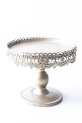 Rental store for 10  RD GOLD ANTIQUE CAKE STAND in Tyler TX