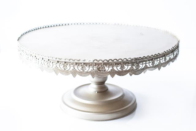 22 Inch Rd Gold Antique Cake Stand Rentals Tyler Tx Where