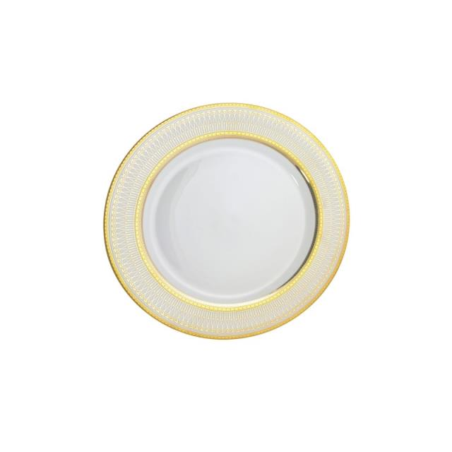 Where to find 6  IRIANA GOLD DESSERT PLATE in Tyler