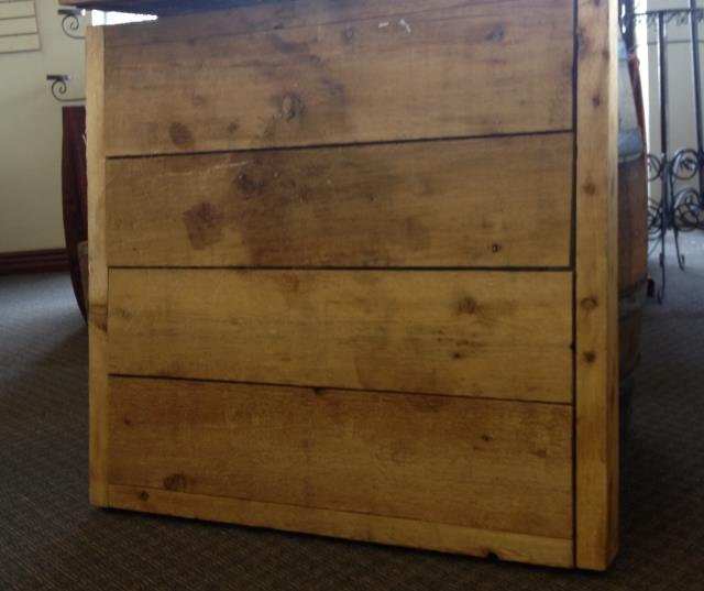Where to find 34  X 34  CEDAR TABLE TOP ONLY in Tyler