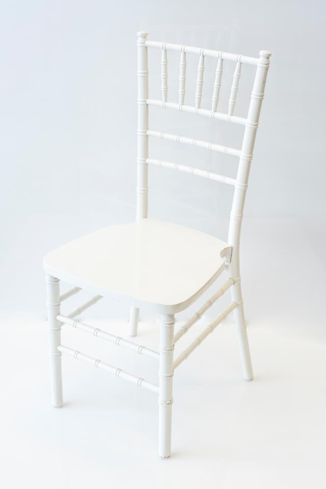 Where to find WHITE CHIAVARI CHAIR in Tyler