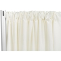 Rental store for 20  IVORY POLY DRAPE A in Tyler TX
