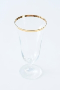 Rental store for 15 OZ GOLD RIM ALL PURPOSE GLASS in Tyler TX