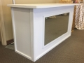 Rental store for WHITE PORTABLE WOOD BAR WITH INSERT in Tyler TX