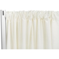 Rental store for 20  IVORY POLY DRAPE U in Tyler TX