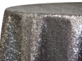 Rental store for 12  CHARCOAL SEQUIN DRAPE in Tyler TX